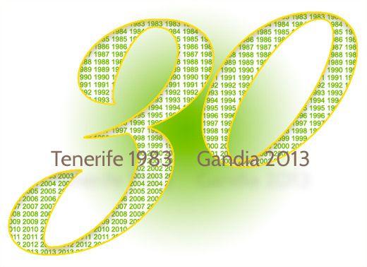Los Verdes. Del Manifiesto de Tenerife 1983 al Manifiesto de Gandia 2013. 30 Aniversario