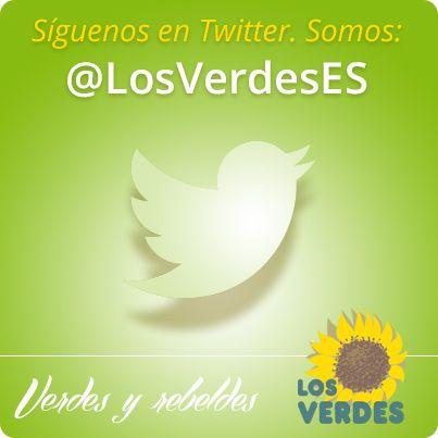 Los Verdes en Twitter: @LosVerdesES