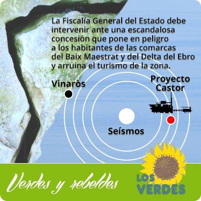 Los Verdes: Zapatero y el ministro Sebastián deben explicar la escandalosa concesión del almacén de gas Castor