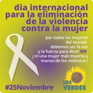 De nuevo, es 25 de noviembre y la violencia machista continúa matando