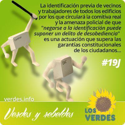 La identificación de los vecinos de Madrid por parte del gobierno es neofascismo al servicio de la monarquía de siempre