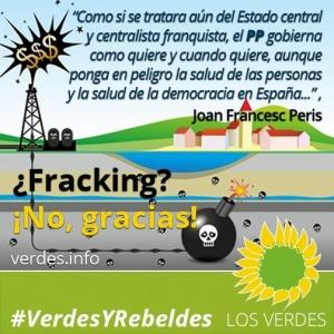 El fracking y la irresponsabilidad del Gobierno de España