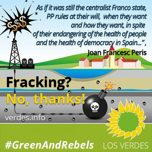 Fracking and the irresponsibility of the Government of Spain