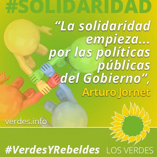 La solidaridad empieza… por las políticas públicas del Gobierno