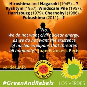 Why we do not want nuclear energy