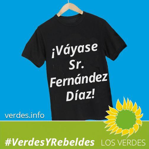 Váyase, Sr. Fernández Díaz