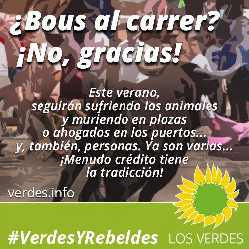 """Al Gobierno valenciano que solo autorizará """"bous al carrer"""" en los municipios que acrediten tradición"""