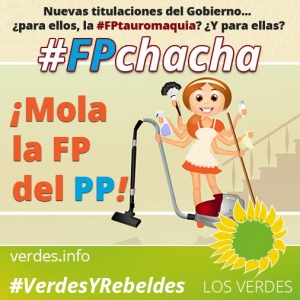 ¡Mola la FP del PP!