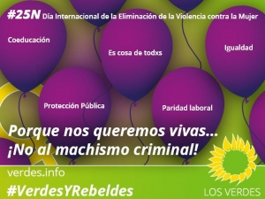 Porque nos queremos vivas… ¡No al machismo criminal!