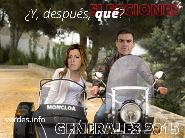 ¿Y, después de las elecciones, qué?  Lo que venga en el PSOE sera? peor. Para ellos y para nosotros