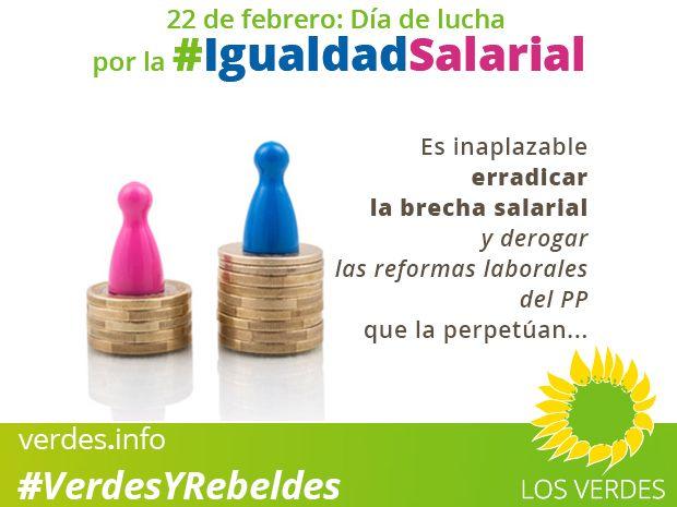 22 de febrero: día de lucha por la igualdad salarial