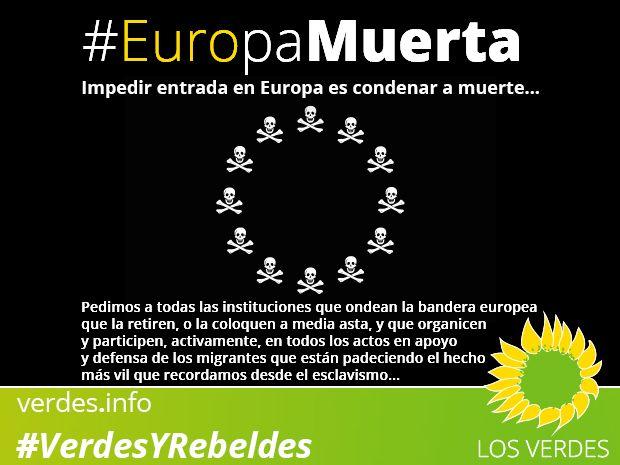 Impedir entrada en Europa es condenar a muerte...