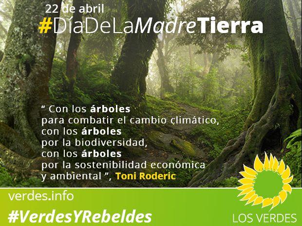 Árboles contra el cambio climático en el Día Internacional de la Madre Tierra