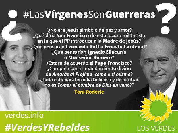Las Vírgenes son guerreras. En Málaga, Gandia o Archidona...