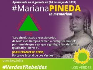 Mariana Pineda, símbolo de la lucha por la igualdad y las libertades