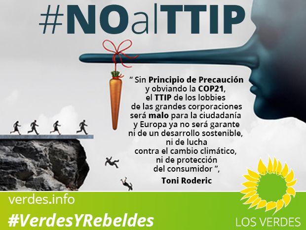 Si nos mienten con el TTIP, ¡bótalos!