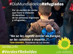 En el Día Mundial de los Refugiados