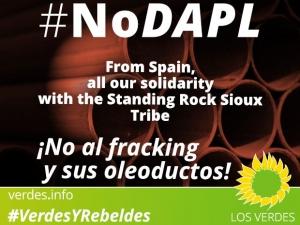 En solidaridad con los sioux de Standing Rock