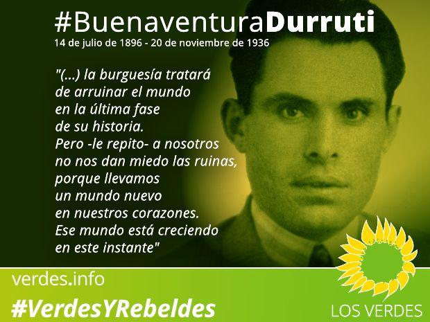 20N: Buenaventura Durruti. In memoriam