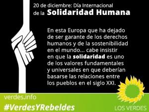 Día Internacional de la Solidaridad Humana
