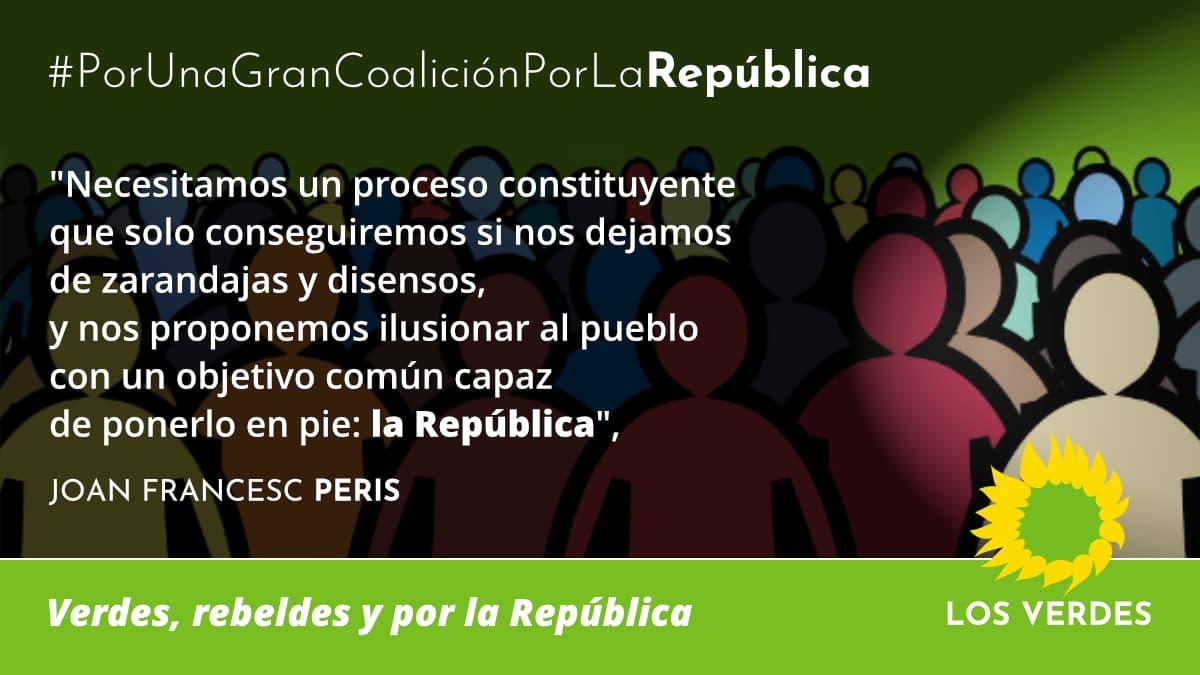 Los Verdes por una gran coalición por la República