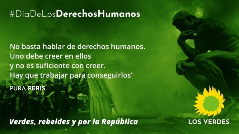 En el Día de los Derechos Humanos