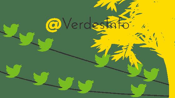 Los Verdes en Twitter