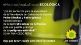 Los Verdes consideran una grave irresponsabilidad del gobierno provisional de Pedro Sánchez autorizar el Almacén Temporal Individualizado de residuos nucleares en la Central Nuclear de Cofrentes