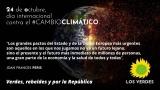 Los Verdes reclaman un programa amplio de acciones urgentes y eficaces contra la emergencia del cambio climático