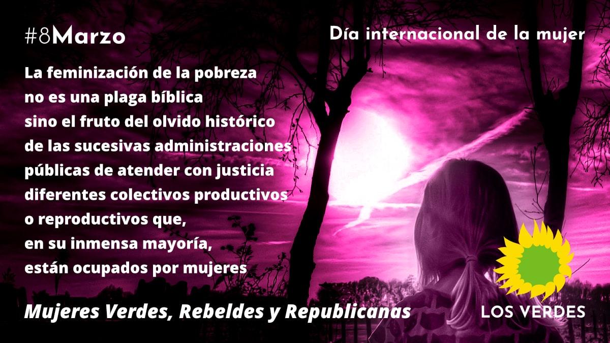 Manifiesto de Las y Los Verdes. Un nuevo 8 de marzo